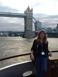 Marit on Thames